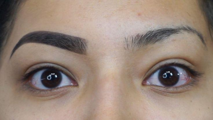 Eyebrow Tutorial Using NEW LAGIRLCOSMETICS DARK & DEFINED BROW KIT - YouTube