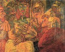 Mocking of Christ - Emil Nolde