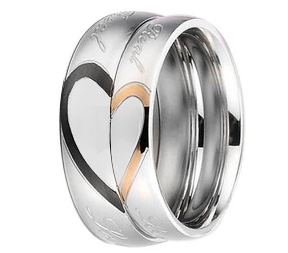 Wedding Silicone Heart Rings
