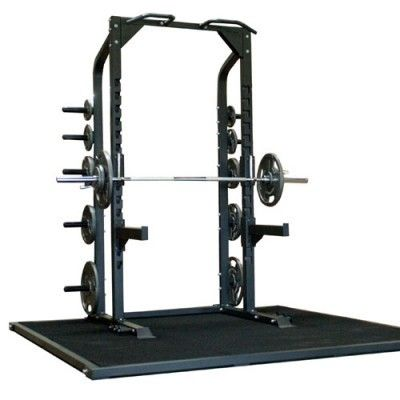 This Champion half #rack is built to withstand demanding use. It's ideal for high #school #gyms, #commercial gyms, or even home use. The Champion Half Rack is the way to #teach #athletes to #train safely. It provides safety for #weightlifters and helps to eliminate injuries.