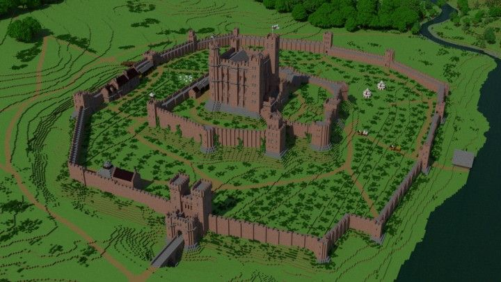 Norman castle Minecraft Project