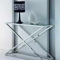 Eastham stainless console - http://idealhomechoices.com/eastham-stainless-console/