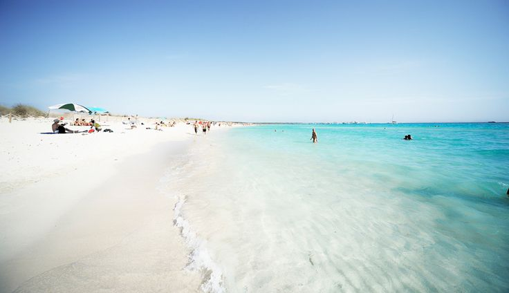 Es Trenc.Mallorca. Wild and beautiful. Imagine how many lunges you could do on a beach like this!