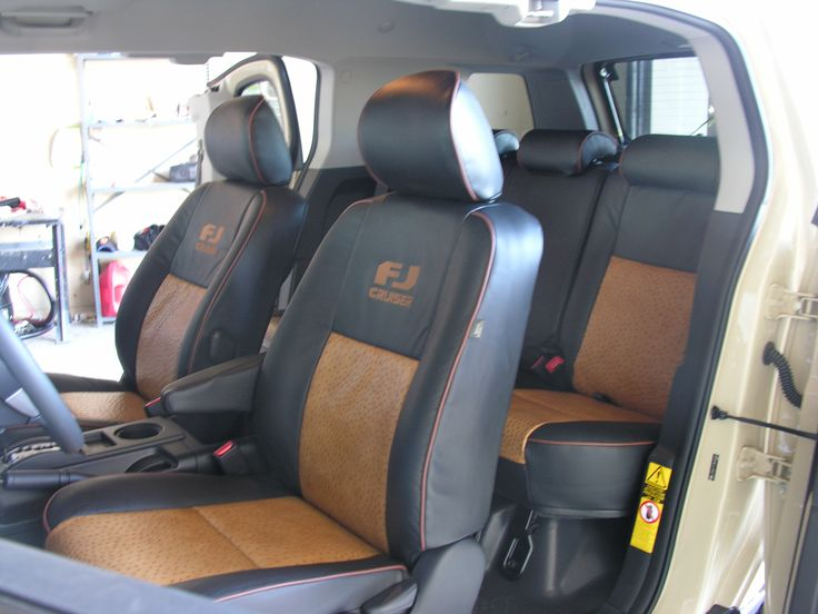 OSTRICH SKIN INTERIOR IN AN FJ CRUISER BY ACCESSORIES UNLIMITED ALBUQUERQUE