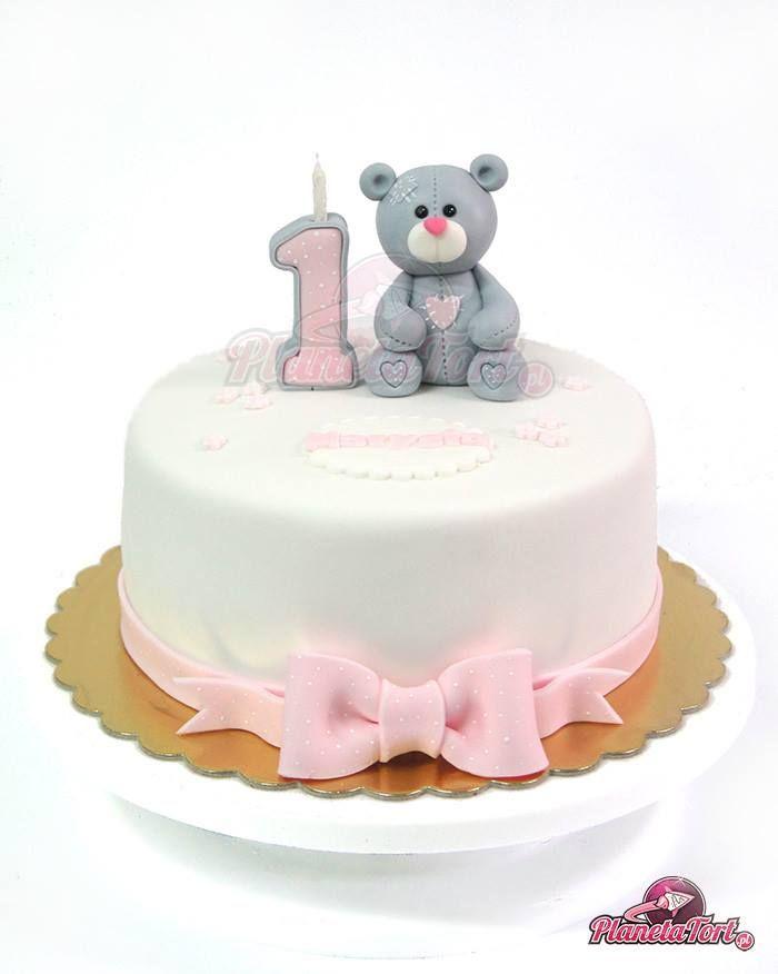 1st Birthday Teddy Bear cake                              …
