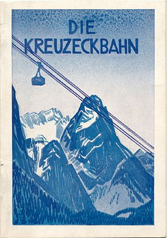 Kreuzeck-Bahn (Kreuzeck Railway) by Susanlenox, via Flickr