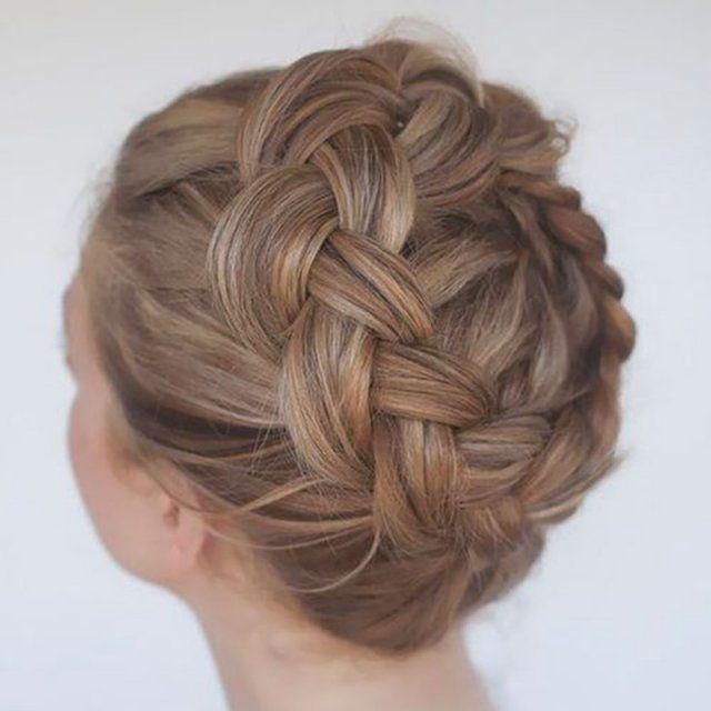 Couronne tressée / Réaliser une couronne tressée / DIY coiffure
