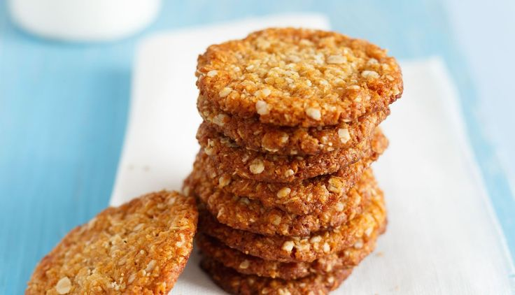 The perfect ANZAC biscuit is crisp, chewy, buttery and full of oats. This is that cookie, plus it has the warm, caramelised flavour of maple syrup.