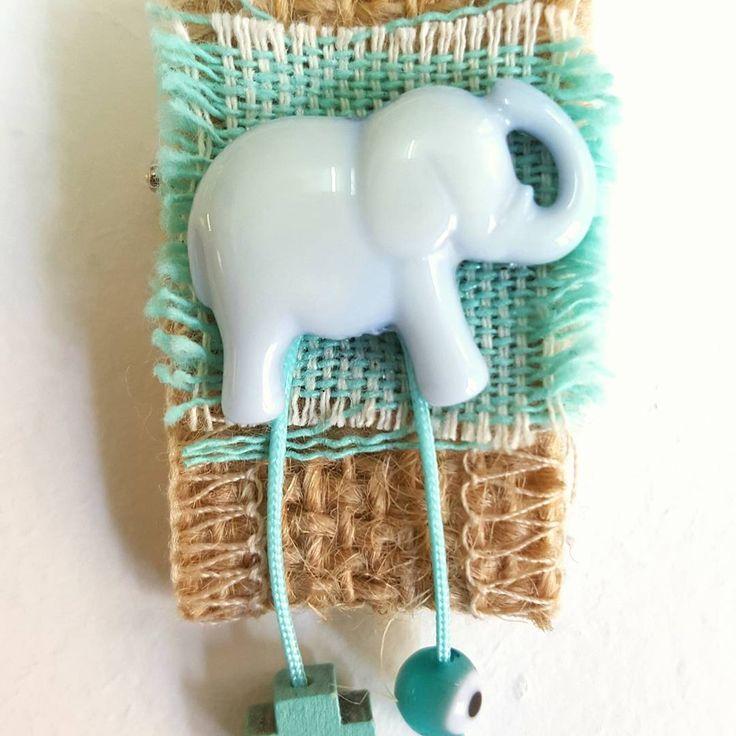 Μαρτυρικό ελεφαντάκι! Baptism witness pin!