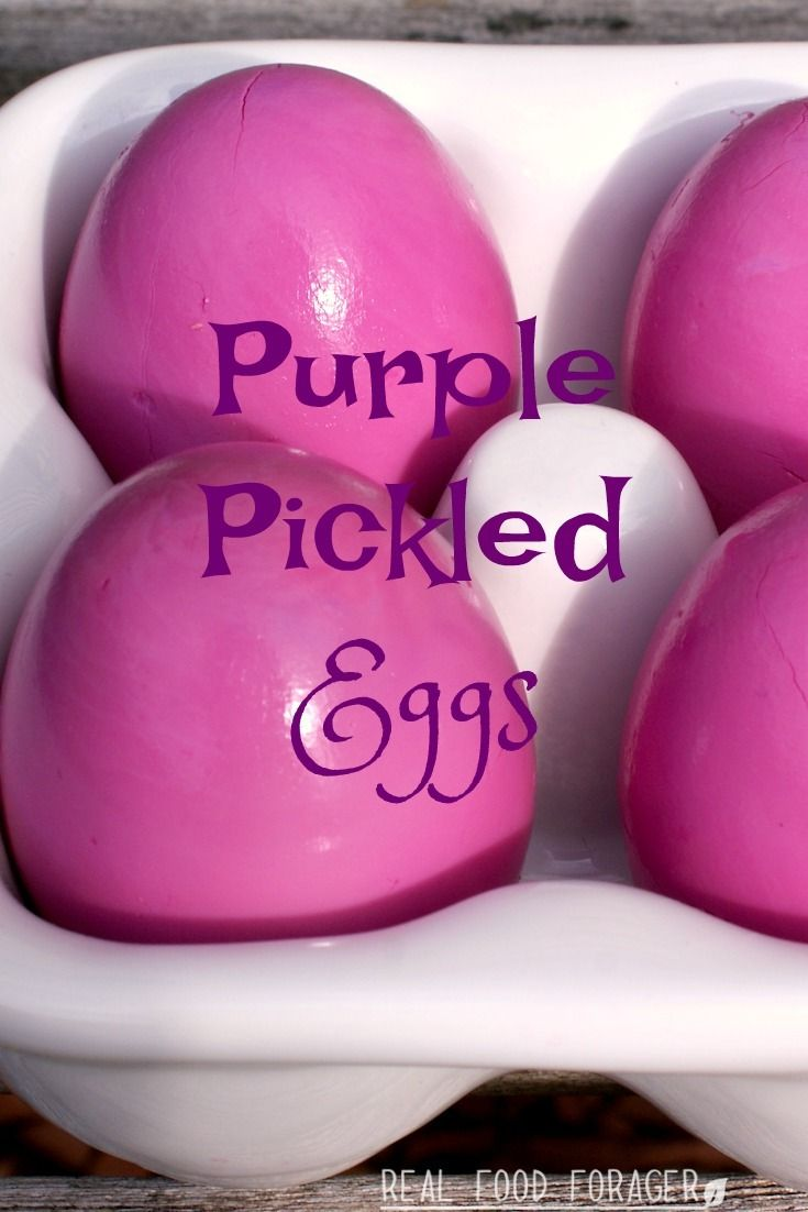 Purple Pickled Eggs. Make these gorgeous fermented eggs for their probiotic benefits and their beautiful purple pickled color!