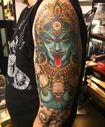 Impresionantes Tatuajes Hindues Para Hombres Ink Kali Tattoo