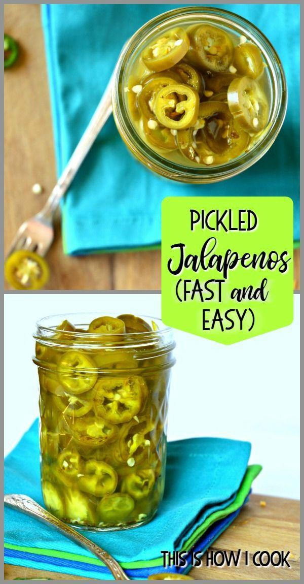 3 Ingredient Candied Jalapenos