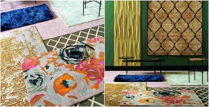 Espectaculares alfombras de la nueva colección de otoño 2017 de Leroy Merlín