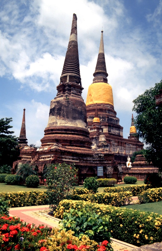 Templi di Ayutthaya,Thailandia! *-* <3