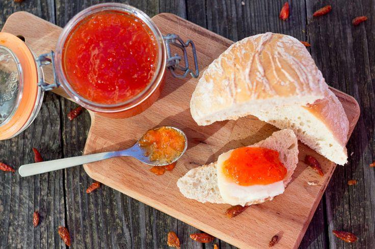 Chá das Cinco: Receita de geleia de malagueta