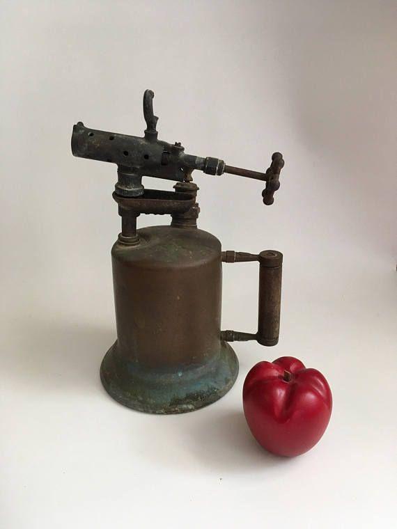 Vintage Blow Torch Clayton & Lambert Welder Supply Copper