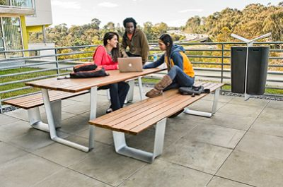 This is a whole line of products that could be coordinated together. Is it too modern? MultipliCITY Table