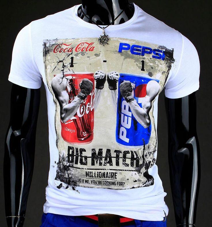 Cola vs Pepsi Polecamy t-shirt: http://dstreet.pl/product-pol-1065-T-shirt-rx0388-.html  #cola #pepsi #dstreet