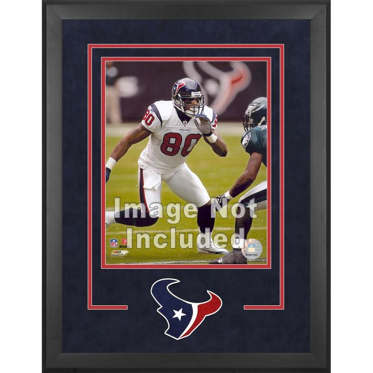 """Houston Texans Fanatics Authentic 16"""" x 20"""" Deluxe Vertical Photograph Frame with Team Logo"""