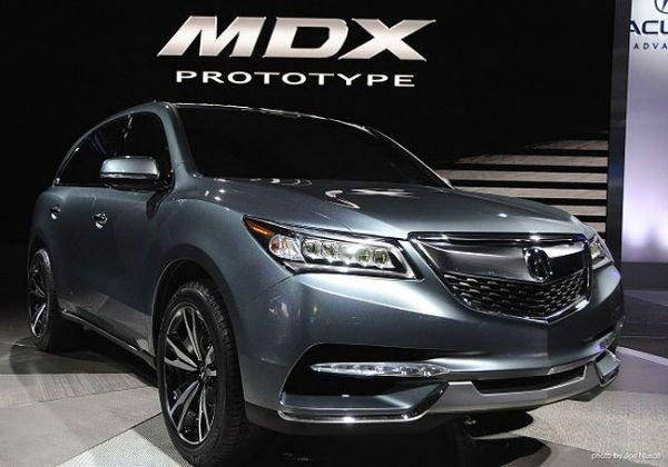 2020 Acura Mdx Prototype Acura Mdx Acura Mdx Hybrid Acura