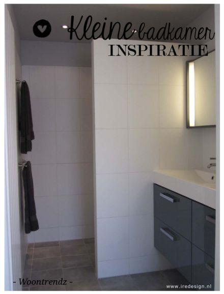 Tips voor de kleine badkamer van Charlotte.