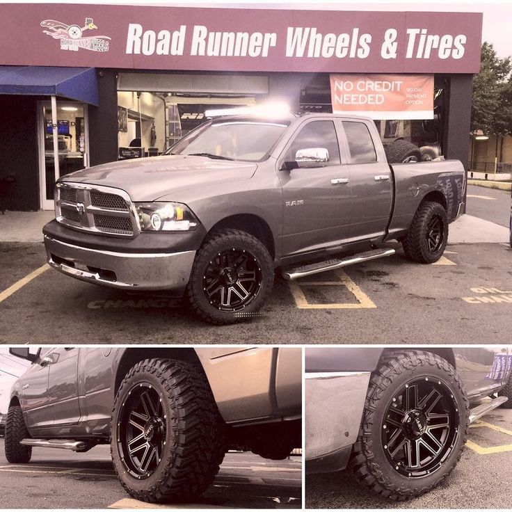20x10 tuffoffroad on dodgeram1500 roadrunnerwheels
