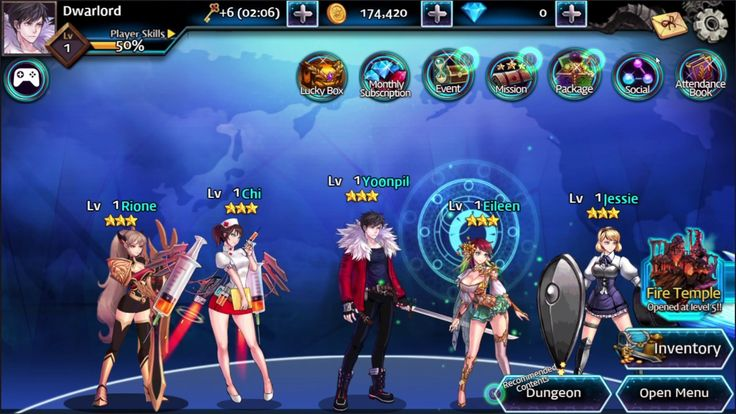 Unknown Code Ticket Of Fantasy GAME #1 - Unknown Code Ticket Of Fantasy is a Android Free-to-play Role Playing Multiplayer Game RPG featuring mobile RPG cinematic scroll battles