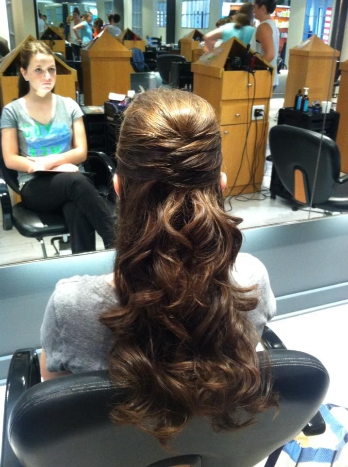 Prom hair needs some kind of bling
