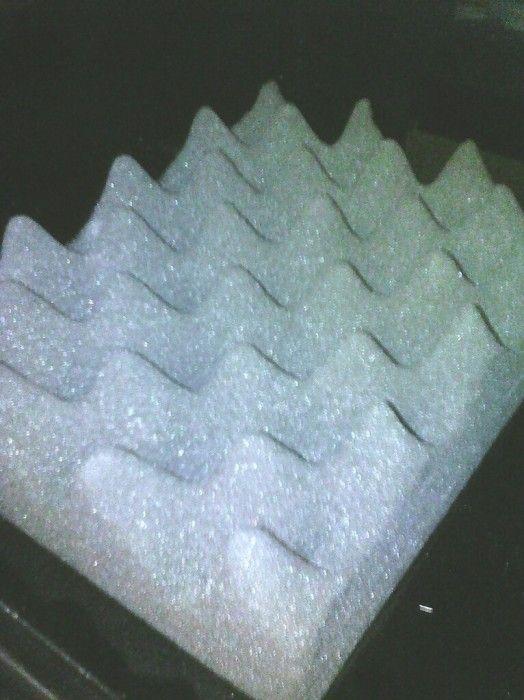 Harga peredam suara ruangan berkualitas Eggfoam Dimensi 200 x 100 cm , pesan di : 089640556753