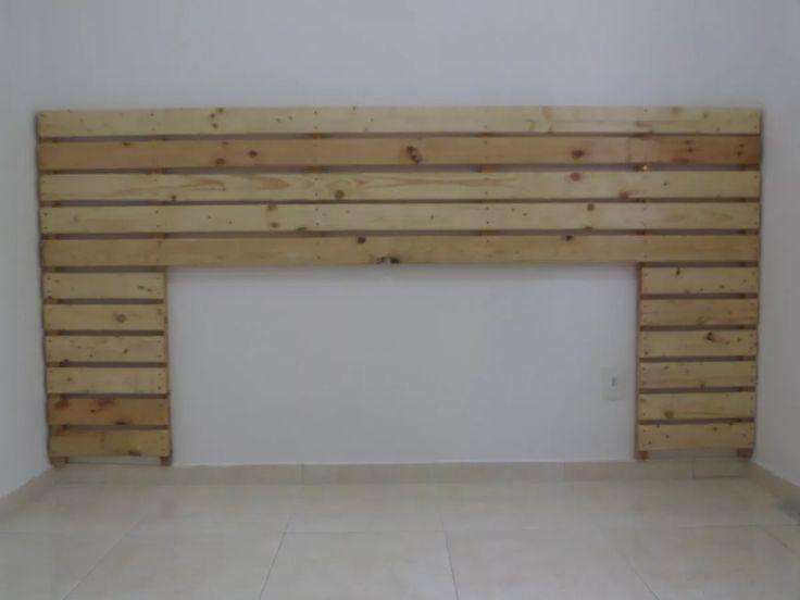 (4) Cabeceira De Cama Box Casal Queen King - Feita De Pallets! - R$ 200,00 em Mercado Livre