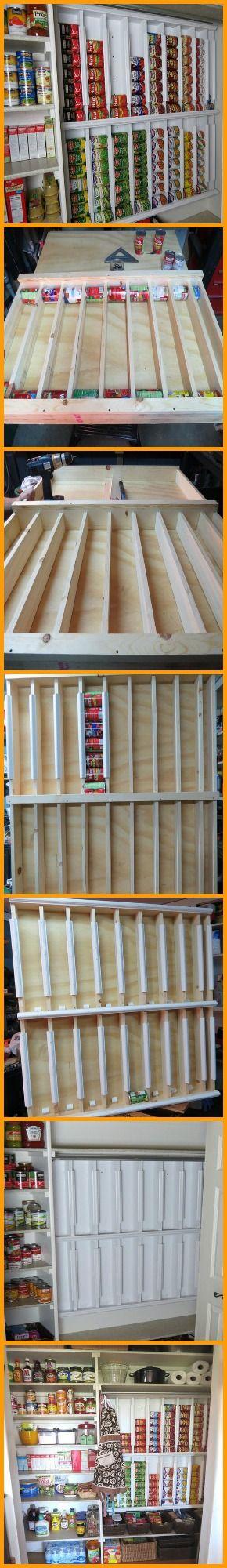 best 25 canned food storage ideas on pinterest. Black Bedroom Furniture Sets. Home Design Ideas