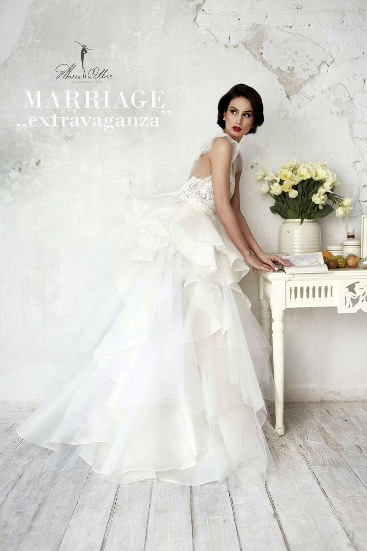 "Marie Ollie, Marriage ,,extravaganza"" wedding, dress, bride"