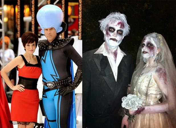 15 best creative yet scary halloween costumes 2012 for couples 13 15 best creative yet scary halloween costumes 2012 for couples - Couple Halloween Costumes Scary