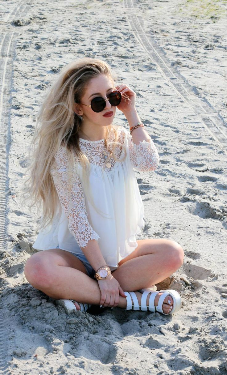 OUTFIT OF THE DAY | CROCHET & CHIFFON