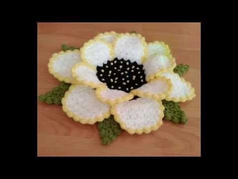 Çiçek Lif Modeli Yapım Videosu Sesli Tarifi - YouTube