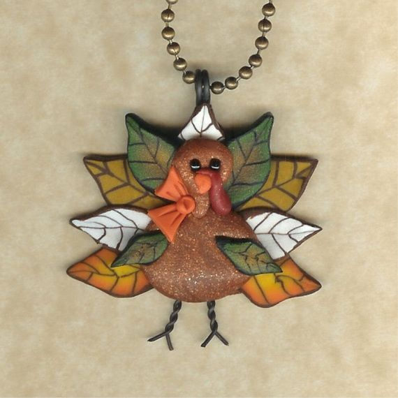 Polymer clay thanksgiving craft projects for adults for Thanksgiving activities for adults