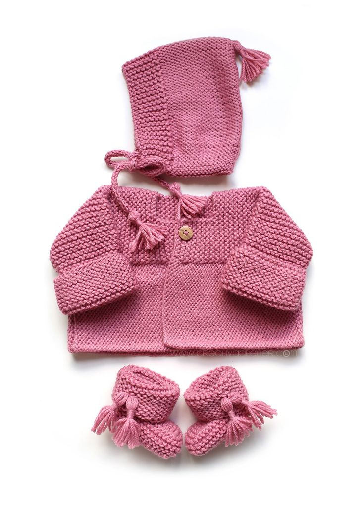 Free knitting patterns for baby clothes