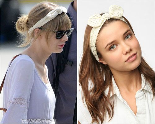Arriving at American Airlines Arena | Miami, Florida | April 10, 2013 Thanks you-and-i-you-and-i! SIMILAR: Urban Outfitters 'Eyelet Bow Headwrap' - $14.00