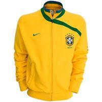 Nike Brazil Anthem Jacket - Varsity Maize. Brazil Anthem Jacket - Varsity Maize. http://www.comparestoreprices.co.uk/football-kit/nike-brazil-anthem-jacket--varsity-maize-.asp