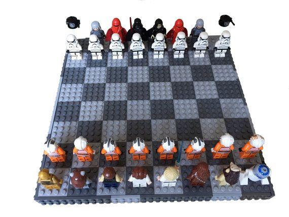 Les 25 meilleures id es de la cat gorie jeux d 39 checs sur pinterest chiquiers diy jeu d - Jeux de lego sur jeux info ...