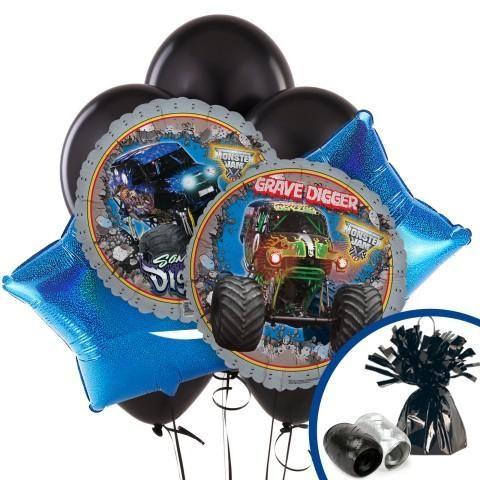 $11.99 Monster Jam 3D Balloon Bouquet