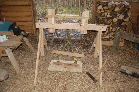 Pole Lathe/ Treadle Lathe/ Woodworking Lathe
