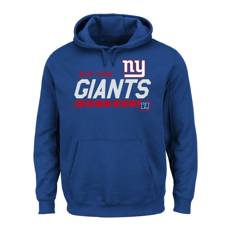 New York Giants Men's Big & Tall Team Pride Fleece Pullover Hoodie Sweatshirt - 1XL Tall