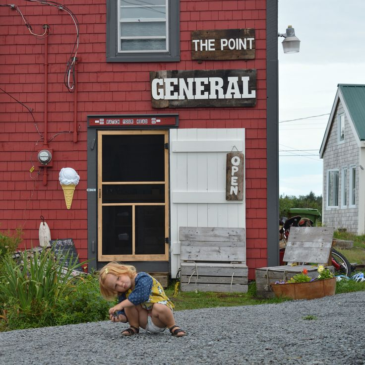 The Point General Store. Blue Rocks, Nova Scotia.