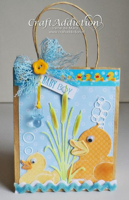 Irene's Scrapbook: CraftAddiction Challenge #5 - geboorte