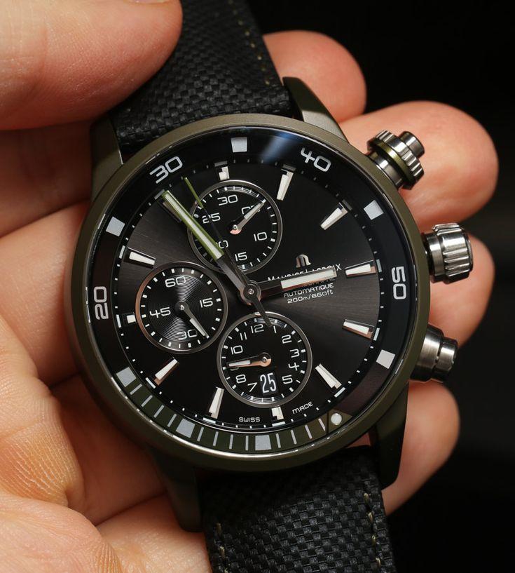 Maurice Lacroix Pontos S Extreme #watch #MauriceLacroix Swiss Watchmakers  #horlogerie #pontos @calibrelondon