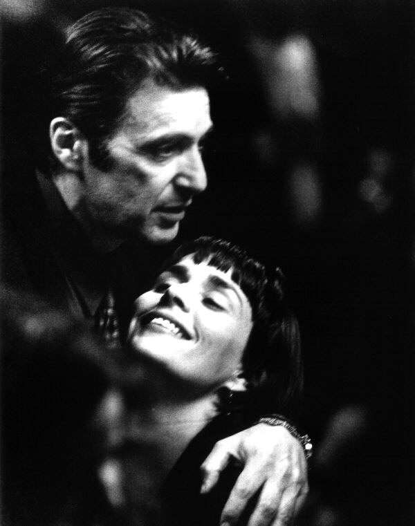 (Los Angeles) Al Pacino and Diane Venora in Heat (1995) directed by Michael Mann