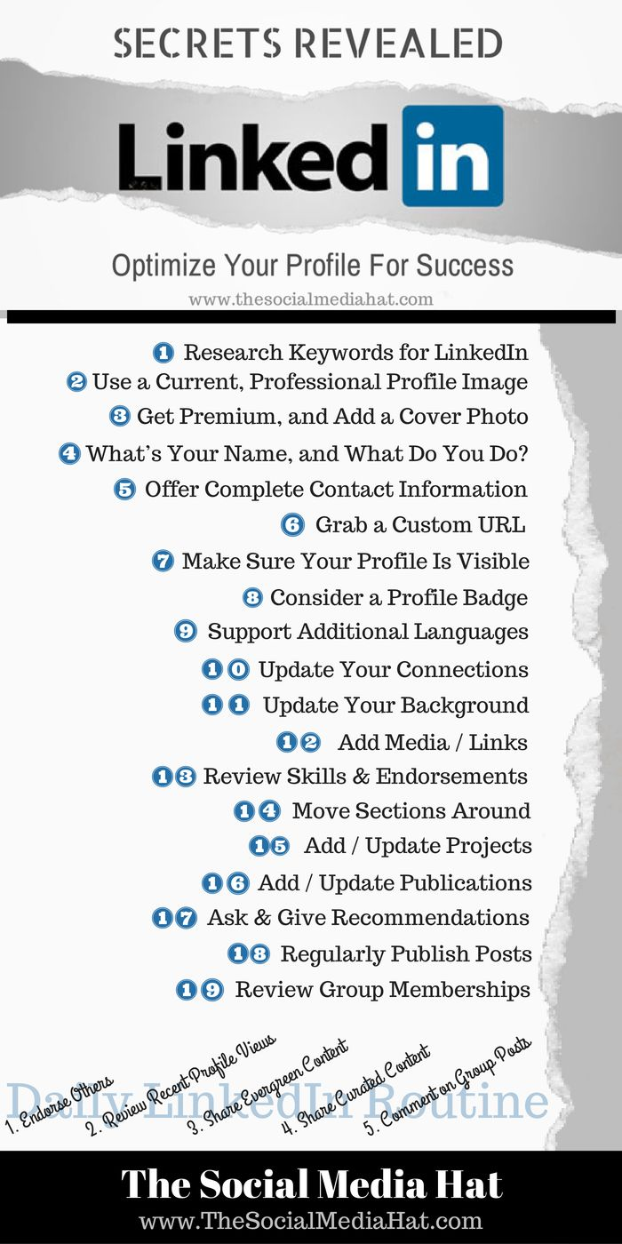 linkedin resume tips