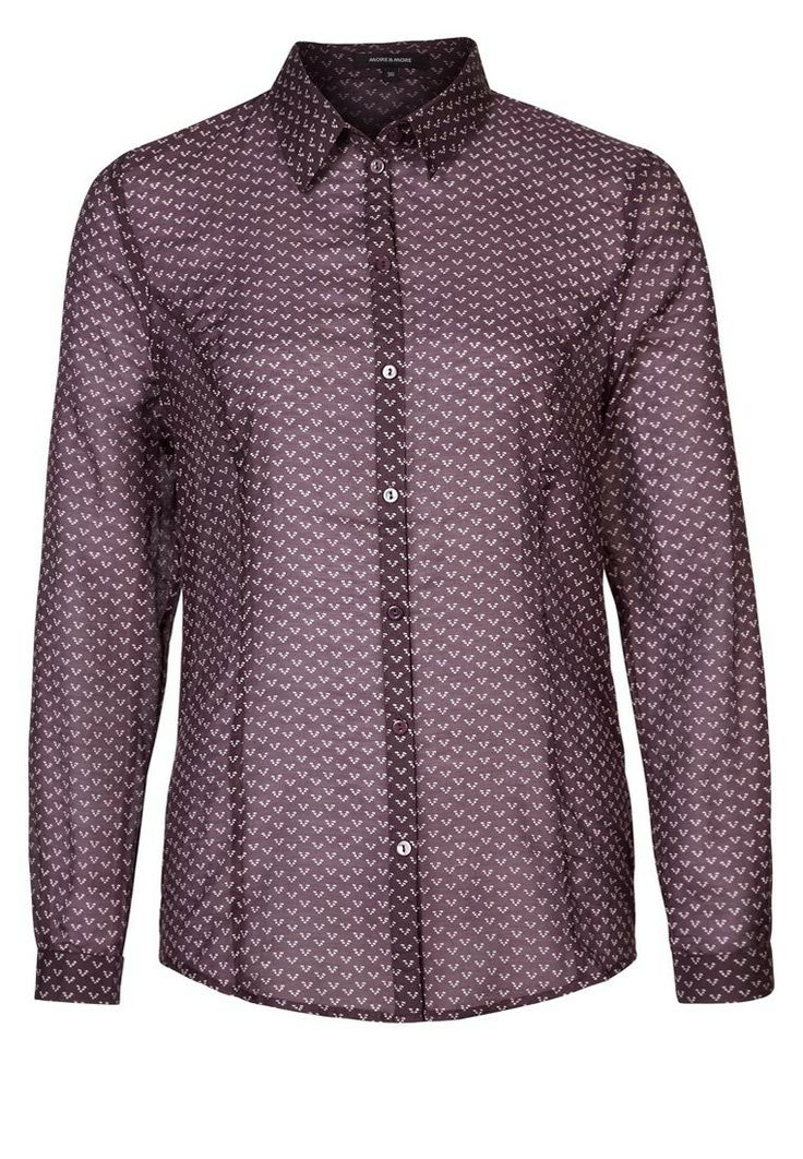 More & More BEA Blouse Paars - More & More BEA Blouse Paars