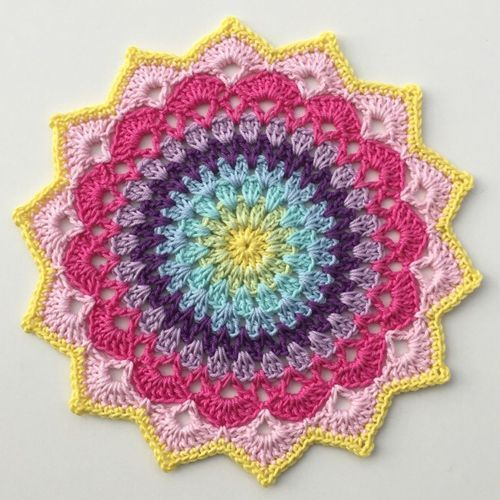 Magnolia Mandala - Free Pattern | Crochet For Children | Bloglovin'